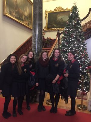 Senior Choir at Farmleigh