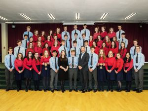 Senior Choir Perform in Concert Hall